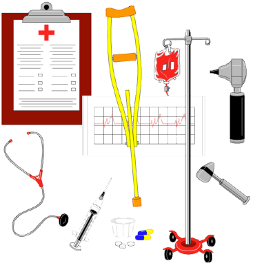 This is a drawing of medical equipment.